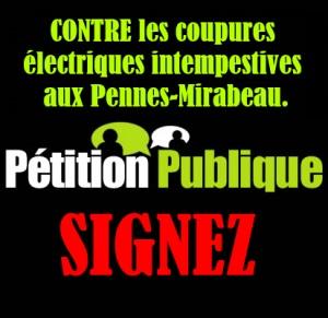 Pétition Publique adressée au Ministère de l'Energie
