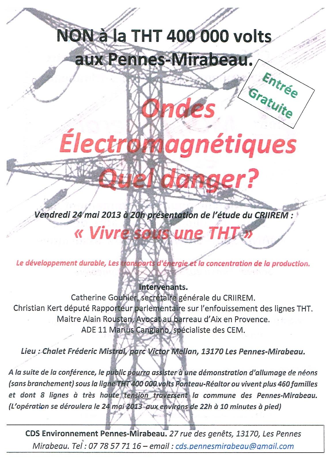 Ondes Électromagnétiques Quel danger?